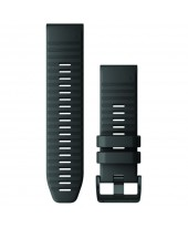 Garmin Λουρί QuickFit 26mm Black Silicone 010-12864-00