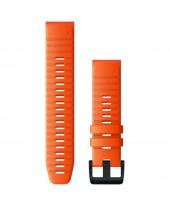 Garmin Λουρί QuickFit 22mm Ember Orange Silicone 010-12863-01